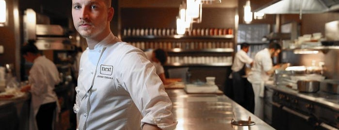 Next is one of Phil Vettel's Top 50 Chicago Restaurants.