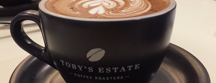 Toby's Estate Coffee Roasters is one of Shank 님이 좋아한 장소.