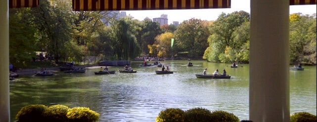 The Loeb Boathouse is one of Bons plans NYC.