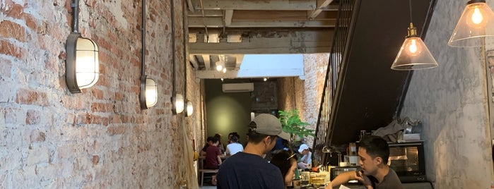 Ome by Spacebar Coffee is one of Penang Eats.