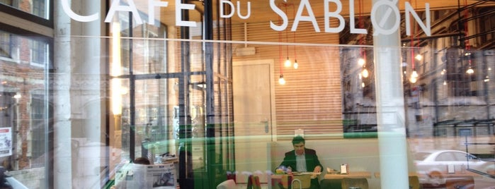 Café du Sablon is one of Locais curtidos por Monika.