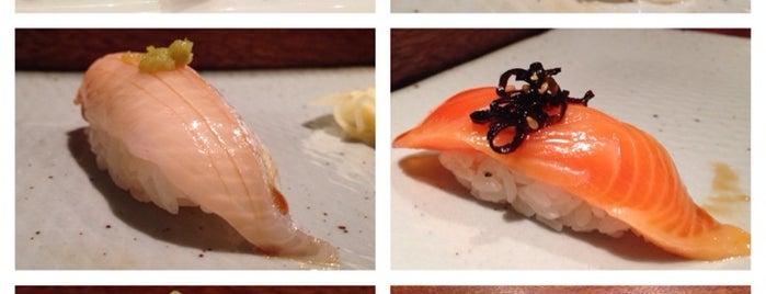 Sushi Katsuei is one of new todo.