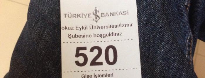 Türkiye İş Bankası is one of Lugares favoritos de Mustafa.