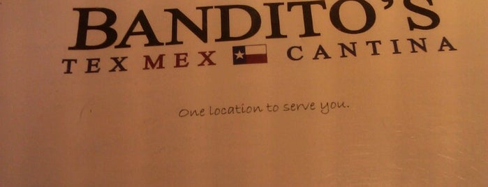 Bandito's Tex Mex Cantina is one of Dog Friendly Places in Dallas.