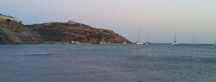 Παραλία Άγιος Πέτρος Σούνιο is one of Athens Beach.