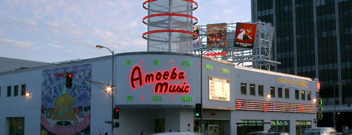 Amoeba Music is one of LALA LAND.