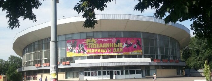 Цирк is one of Theater, circus.