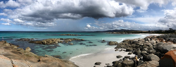 Bay of Fires is one of Tasmania.