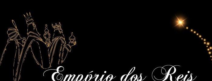 Empório dos Reis is one of สถานที่ที่ Claudiberto ถูกใจ.