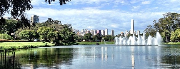 Parque Ibirapuera is one of places.