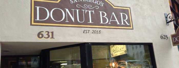 Donut Bar is one of San Diego.