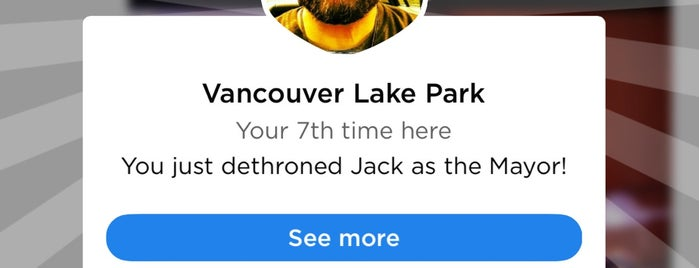 Vancouver Lake Park is one of My Saved Places.