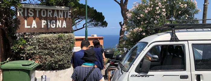Ristorante La Pigna is one of Sorrento-Capri.