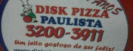 Disk Pizza Paulista is one of Lugares favoritos de Camila.