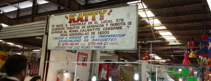 Barbacoa Katty is one of Tacos.