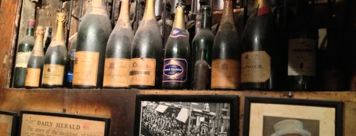Gordon's Wine Bar is one of To Do: LONDON.