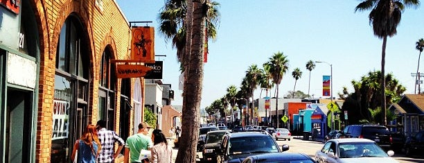 Abbot Kinney Boulevard is one of Going Back To Cali...Again.