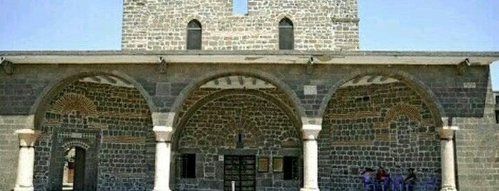 Meryemana Süryani Kadim Kilisesi is one of Diyarbakır: Gezilecek yerler.