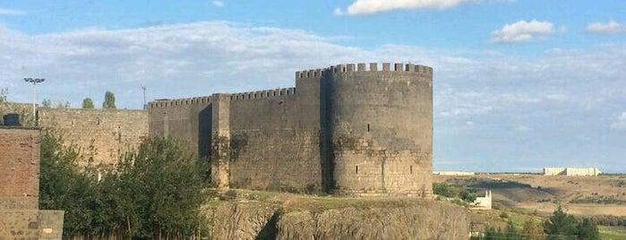 Keçi Burcu is one of Diyarbakır: Gezilecek yerler.