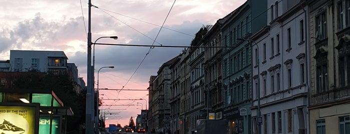 U Zvonu (tram, bus) is one of Prague.