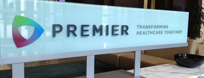 Premier, Inc. is one of Places Penina Mezei visited last year.