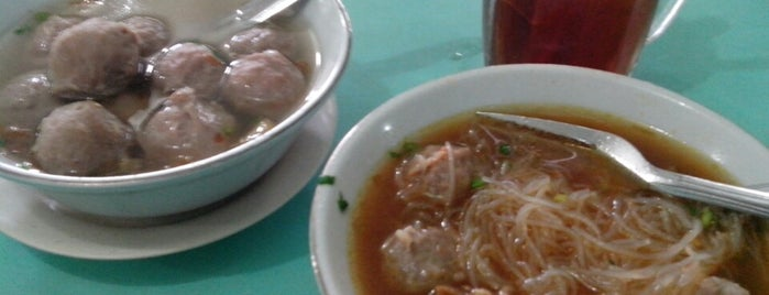 Bakso Amat is one of Medan culinary spot.