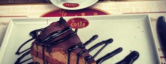 Çotla Cafe & Restaurant is one of Lugares favoritos de Emel.