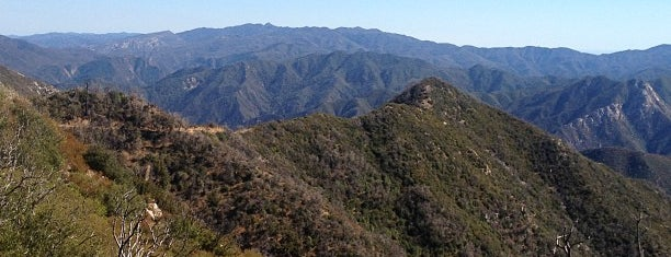 Los Padres National Forest is one of National Recreation Areas.