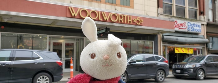 Woolworths On 5th is one of Nashville.