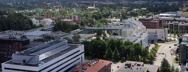 Solo Sokos Hotel Torni Tampere is one of สถานที่ที่ Jonathan ถูกใจ.