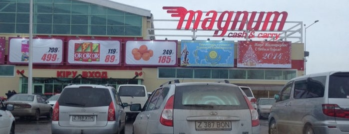 Magnum cash & carry is one of Astana.