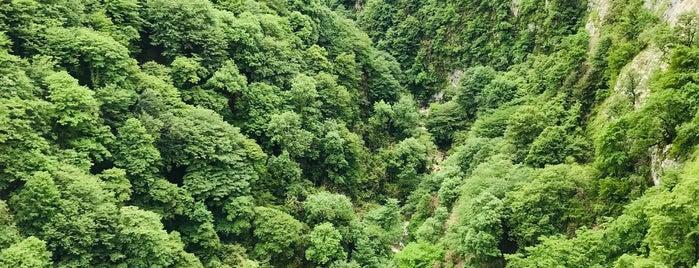Okatse Canyon is one of Грузия.