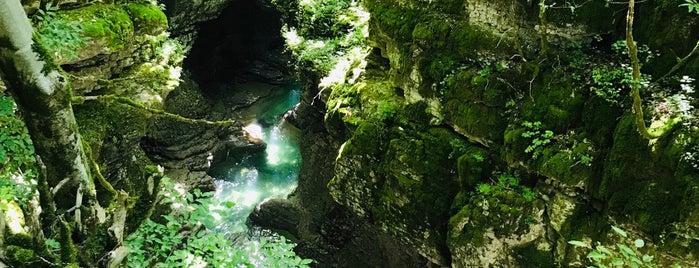 Martvili Canyon is one of Грузия.