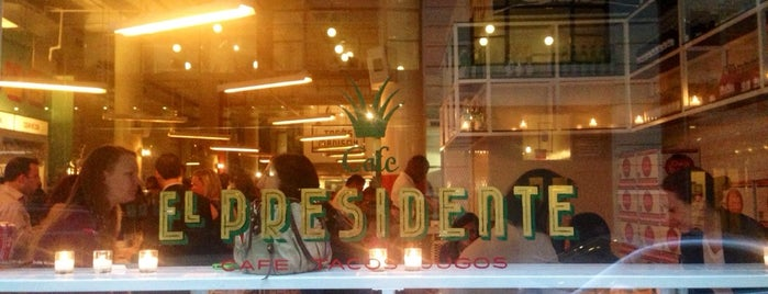 Tacombi Café El Presidente is one of NYC // Places to Eat.