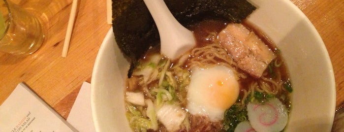 Momofuku Noodle Bar is one of NYC Eats.
