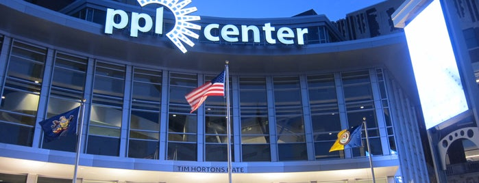 PPL Center is one of EUA - Leste.