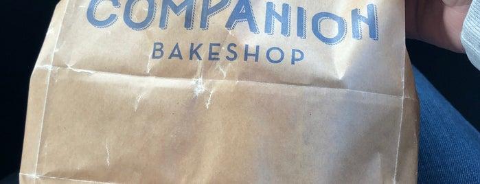 Companion Bakeshop is one of Posti che sono piaciuti a Odile.