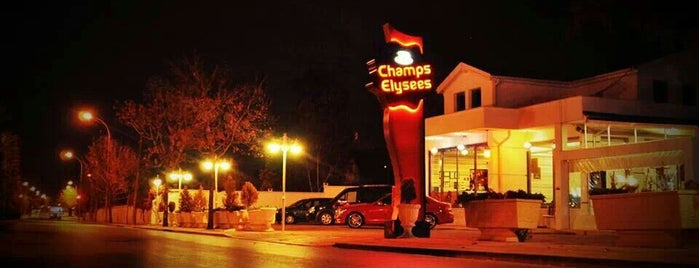 Champs Elysees is one of konya.