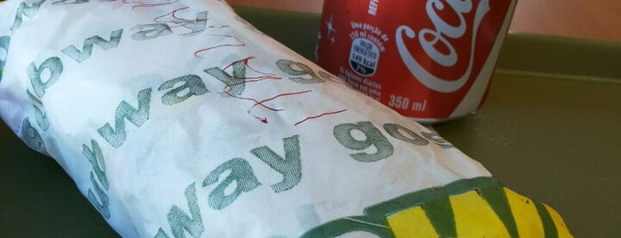 Subway is one of Guiさんのお気に入りスポット.