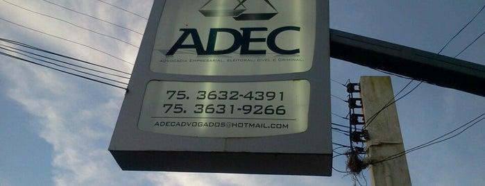 ADEC - Advocacia Empresarial, Eleitoral, Cível E Criminal is one of Locais curtidos por Felipe.