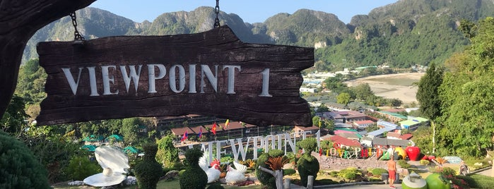 Phi Phi Viewpoint 1 is one of Priscila 님이 저장한 장소.