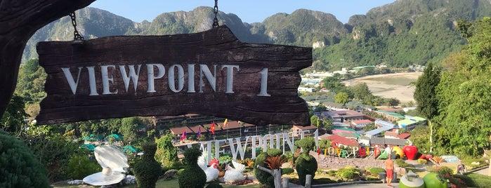 Phi Phi Viewpoint 1 is one of Lieux sauvegardés par Priscila.