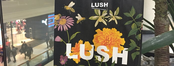 Lush is one of Cosmética Cruelty Free.