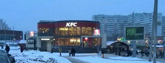 KFC is one of Locais curtidos por Alexis.