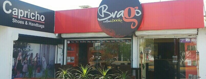 Brago Coffee&Books is one of Posti salvati di Ana.