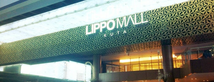 Lippo Mall Kuta is one of Shop Till You Drop.