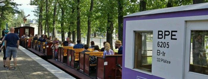 Parkeisenbahn Wuhlheide is one of 1 | 111 Orte in Berlin die man gesehen haben muss.