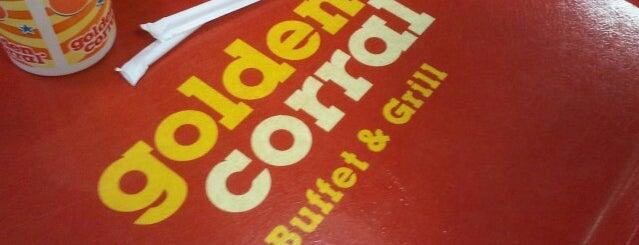 Golden Corral is one of Tempat yang Disukai Dawn.