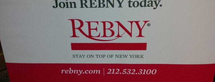 REBNY is one of Lugares favoritos de Paula.