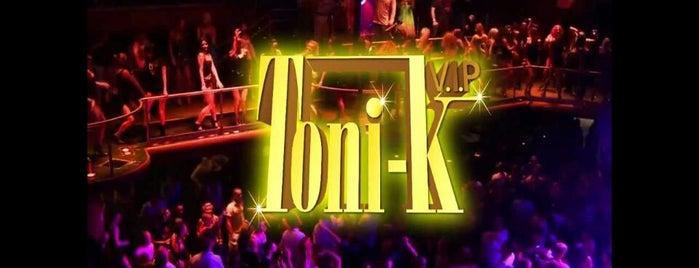 Toni-k is one of pOps'un Beğendiği Mekanlar.
